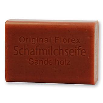 Florex schapen melk SOAP - sandelhout - roodachtig intens taart verse geurige 100 g