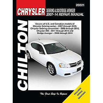Chrysler Sebring & 200 Dodge Avenger Automotive Repair Manual - 2007-1