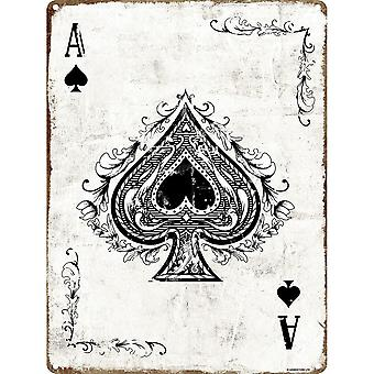 Grindstore The Ace of Spades Tin Sign