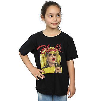 Blondie Kızlar Mic T-Shirt ile Singing