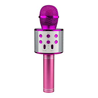 KTV-langaton Karaoke Mikrofoni-vaaleanpunainen