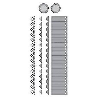 Spellbinders lagdelt rosetter Die (S4-869)