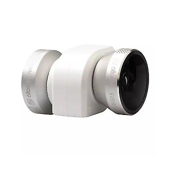 Olloclip 4-in-1 Lens Solution for iPhone 5/5s - Silver Lens/White Clip