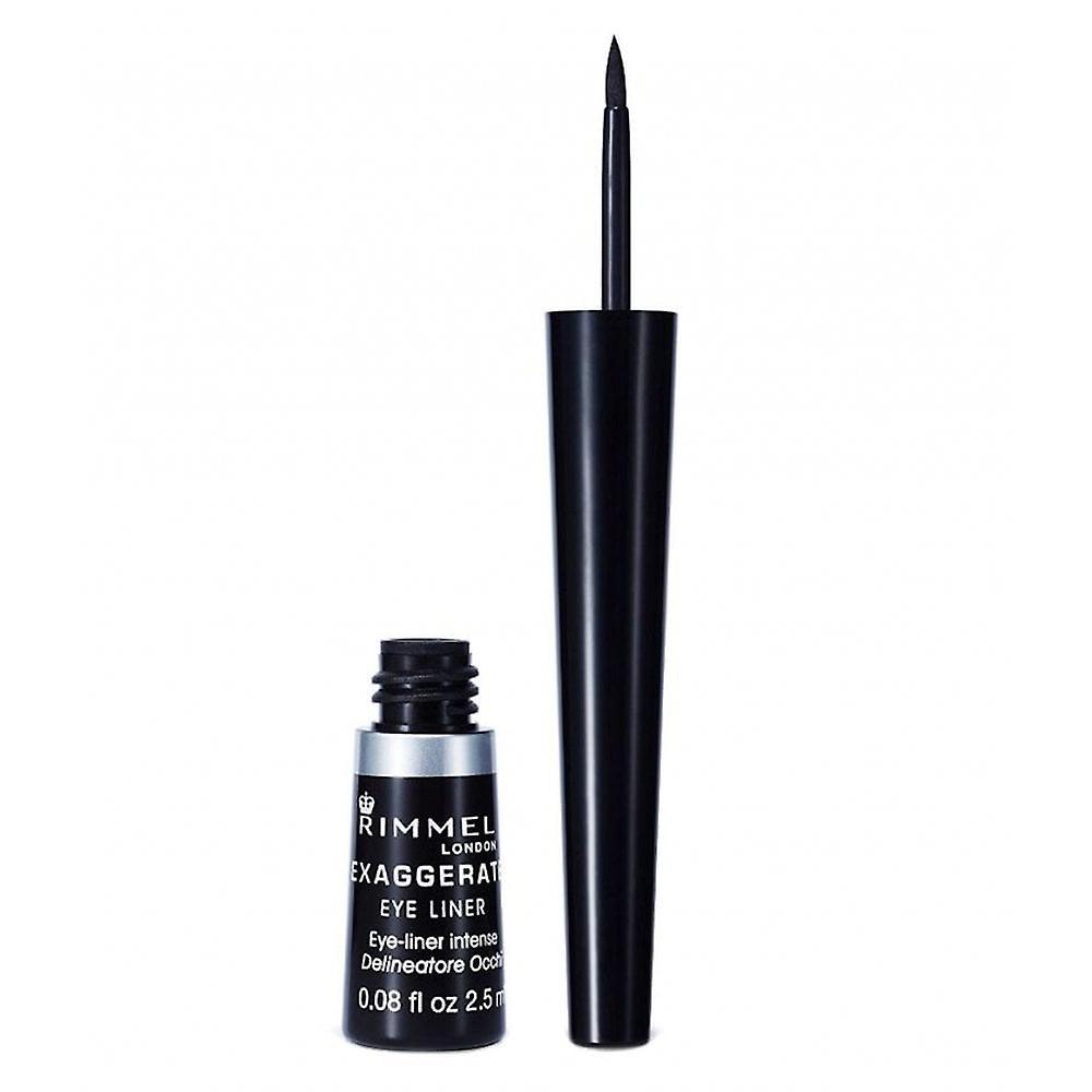 Rimmel Exaggerate Eyeliner - 100% Black