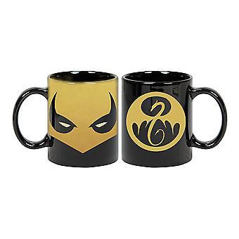 Mug - Marvel - Iron Fist Mask Coffee Cup Licensed cmg-mk-ifmask