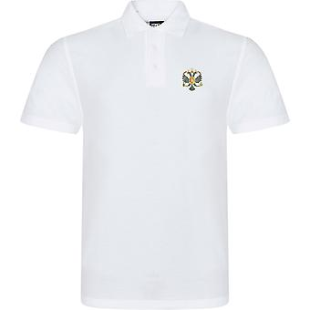 1. dronninger Dragoon Guards QDG-licenseret British Army broderet RTX Polo