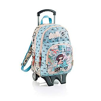 Anekke Miquelrius Anekke Traveller Children's Backpack 54 centimeters 23 Turquoise (Turquesa)