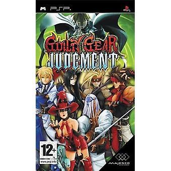Guilty Gear dom (PSP)-nytt