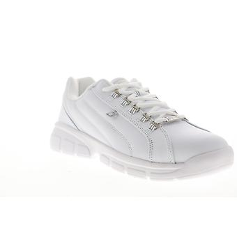 Fila Exchange 2K10 Herren Weiß Schnürsenkel Low Top Sneakers Schuhe