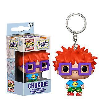Rugrats Chuckie Pocket Pop! Keychain