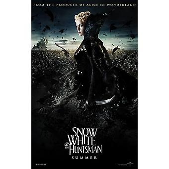 Blanche-Neige et The Huntsman Affiche Double Sided Advance Style B (2012) Original Cinema Poster