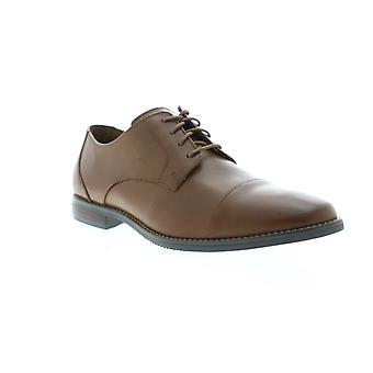 Florsheim Matera II Cap  Mens Brown Leather Dress Lace Up Oxfords Shoes