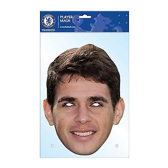 Chelsea FC officiella Oscar fotboll spelare ansiktsmask