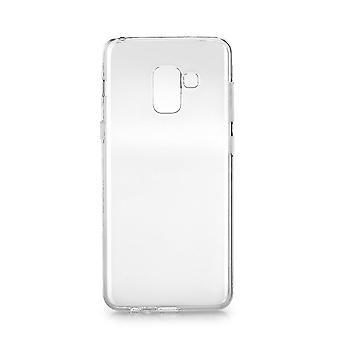 Coque Pour Samsung Galaxy A8+ (2018) Transparente Et Souple