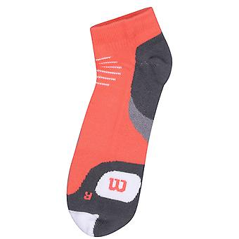 Wilson Mens Gents Training Workout Fitness Sports No Show Ankle Socks