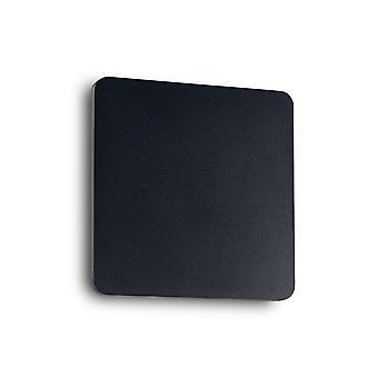 Ideal Lux Cover LED 1 Luz de pared ligera negro IDL195773