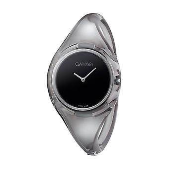 Calvin klein frauen's Uhr, schwarz sx