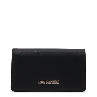 Amor moschino mujeres's cartera - jc5553pp16lq, negro