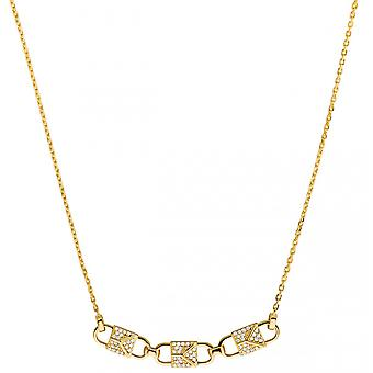 Michael Kors collar and pendant MKC1143AN710 - Lier MERCER LINK Dor And Zircon Women's necklace and pendant