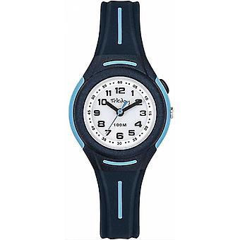 Tekday Watch 654673 - Watch Bo tier Silicone Blue Bracelet Silicone Blue