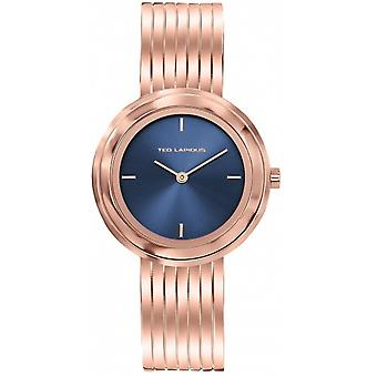 Watch Ted Lapidus A0743UDIW - steel Dor Rose dial blue woman