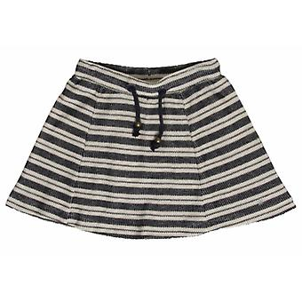 Hust & Claire Blue Striped Skirt