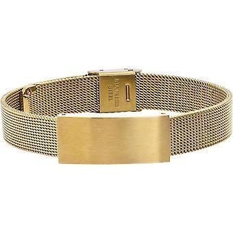 Rochet B022107 armband-MILANO PVD Yellow Milanese heren