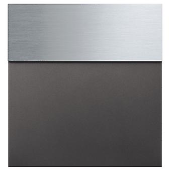 Mocavi Caixa 580 letterbox aço inoxidável antracite brilho de ferro (DB 703)