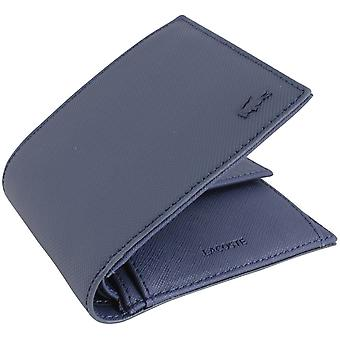 Lacoste Small Bifold and Coin Wallet - Peacoat Navy