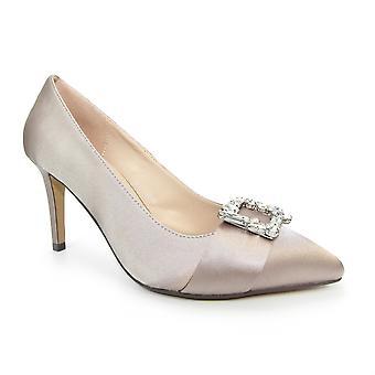 Lunar Sicily Satin Court Shoe