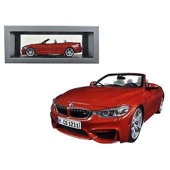 BMW M4 Cabrio Orange 1/18 Diecast Model Car par Paragon