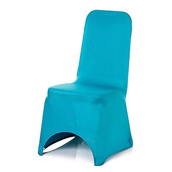 Turquoise Spandex Chair Cover Lycra cover