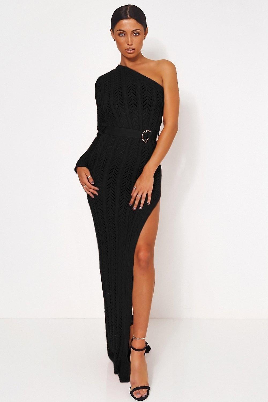 Shalini One Shoulder Maxi Dress