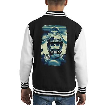 Motorsport Images Niki Lauda Racing Portrait Kid's Varsity Jacket