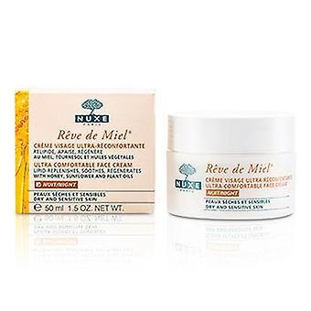 Reve De Miel Ultra Comfortable Face Night Cream (dry & Sensitive Skin) - 50ml/1.7oz
