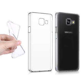 Stuff Certified® Samsung Galaxy A3 2016 läpinäkyvä kirkas silikoni kotelo tpu kotelo
