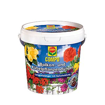 COMPO balcony and potted plant fertilizer, 1.2 kg