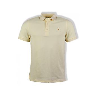 Farah Blanes Short-Sleeved Polo Shirt (Yellow)