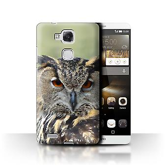 STUFF4 Case/Cover for Huawei Ascend Mate7/Eagle Owl/Birds of Prey
