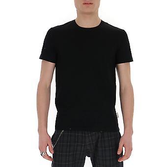 Ballantyne Qmw065uctj615517 Men's Black Cotton T-shirt