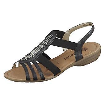 Remonte R366045 sapatos universais de verão feminino