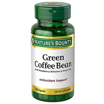 Nature's bounty green coffee bean, antioxidant support, capsules, 60 ea