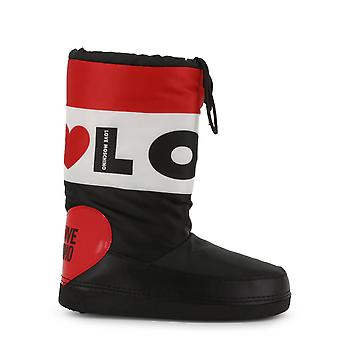 Love Moschino Original Women Fall/Winter Boot - Black Color 54686