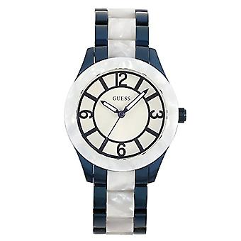 Guess ladies Quartz analogue watch with stainless steel band W0074L3