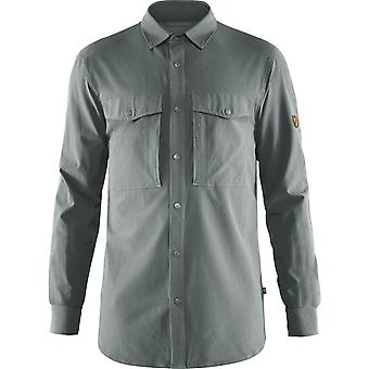 Fjallraven Abisko Trekking Shirt - Shark Grey