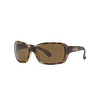 Ray-Ban RB4068 642/57 Havanna/polariserade kristall bruna solglasögon