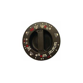 Botón del temporizador de Lavadora Indesit marrón