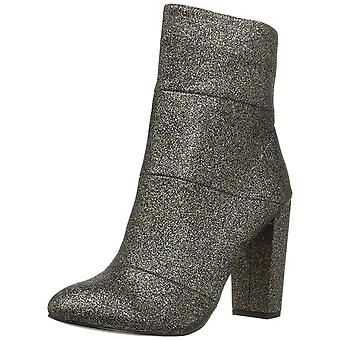 BCBGeneration Womens Coral Fabric Round Toe Ankle Fashion Boots