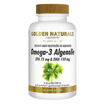 Golden Naturals Omega-3 algae oil (60 liquid capsules)