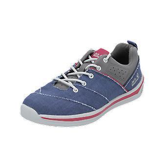 Jack Wolfskin LACONIA LOW W Damen Sportschuhe Blau Sneaker Turn Schuhe